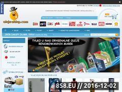 Miniaturka domeny oleje-sklep.com