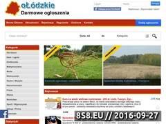 Miniaturka olodzkie.pl (Darmowe ogłoszenia)