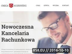 Miniaturka domeny omega-accounting.pl