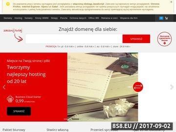 Zrzut strony OmegaWeb.pl - strony www Radom