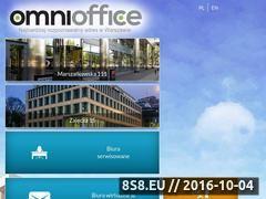 Miniaturka www.omnioffice.pl (Biura wirtualne, biura serwisowane i coworking)