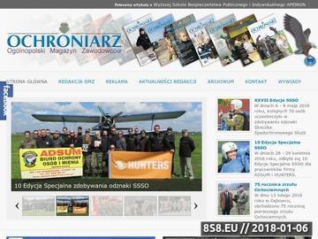 Zrzut strony Ochroniarz - Ogólnopolski Magazyn Zawodowców