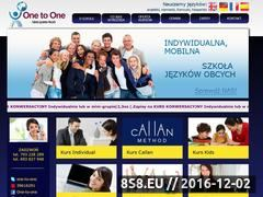 Miniaturka domeny www.one-to-1.pl