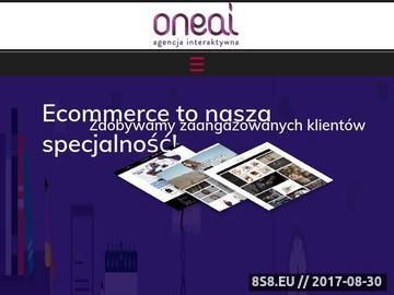 Zrzut strony Agencja Interaktywna Poznań