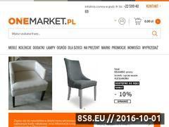 Miniaturka Sklep meblowy, meble i wyposażenie wnętrz (onemarket.pl)