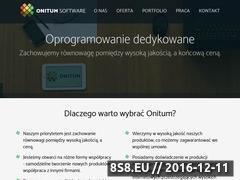 Miniaturka domeny www.onitum.pl