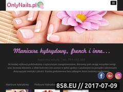 Miniaturka onlynails.pl (Manicure Warszawa)