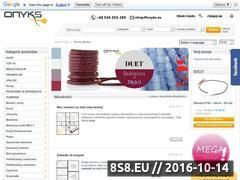 Miniaturka domeny www.onyks.eu