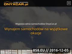 Miniaturka domeny onyxcar.pl