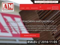 Miniaturka domeny opakowania-kartonowe.pl