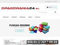 Miniaturka domeny opakowania24.eu