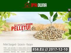 Miniaturka opalownia.pl (Sprzedaż pelletu Stargard)