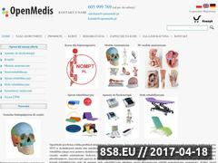Miniaturka openmedis.pl (Modele anatomiczme oraz modele anatomiczne 3D)
