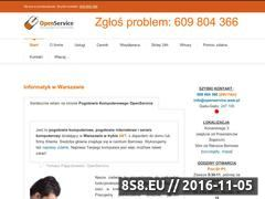 Miniaturka domeny www.openservice.waw.pl