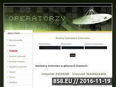 Miniaturka domeny www.operatorzy.info