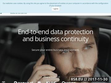Zrzut strony Program do archiwizacji danych