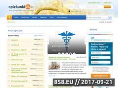 Miniaturka www.opiekunki24.pl (Serwis opiekunów osób starszych)