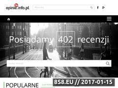 Miniaturka opinie.info.pl (Opinie o produktach)