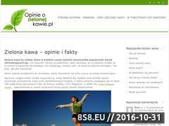Miniaturka domeny opinieozielonejkawie.pl