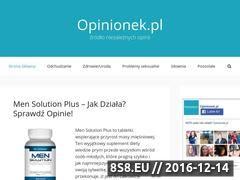 Miniaturka opinionek.pl (Opinie o Suplementach Diety)