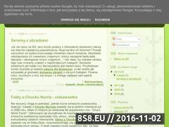 Miniaturka domeny opisy-gg.blogspot.com
