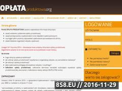 Miniaturka domeny www.oplataproduktowa.org