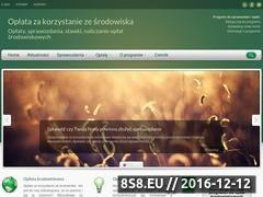 Miniaturka domeny oplatasrodowiskowa.pl