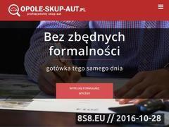 Miniaturka domeny opole-skup-aut.pl