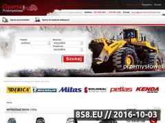 Miniaturka domeny www.oponaprzemyslowa.net