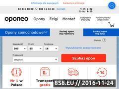 Miniaturka domeny oponeo.pl