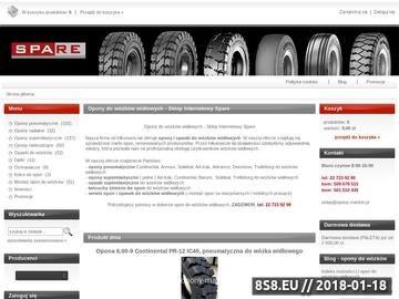 Zrzut strony Opony do wózków widłowych
