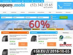 Miniaturka domeny www.opony.mobi