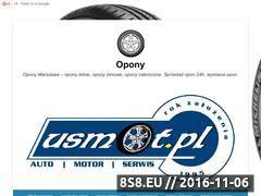 Miniaturka domeny www.opony24.warszawa.pl
