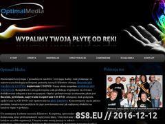 Miniaturka domeny optimalmedia.pl