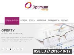 Miniaturka domeny optimum-finanse.com