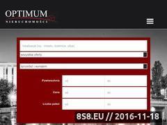 Miniaturka domeny www.optimum.bydgoszcz.pl