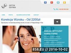Miniaturka domeny www.optyk.i-gdynia.pl