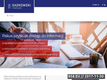 Zrzut strony Wykorzystywanie dostępnych środków do obniżenia podatków