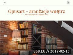 Miniaturka Publikujemy artykuły o urządzaniu i dekoracji (opusart.com.pl)