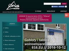 Miniaturka domeny opusplus.pl