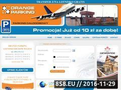 Miniaturka Orange parking przy lotnisku Kraków-Balice (orangeparking.pl)