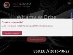 Miniaturka domeny orbe.pl