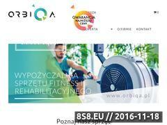 Miniaturka orbiqa.pl (Wypożyczalnia rehabilitacyjna)