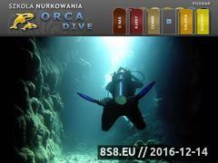 Miniaturka domeny www.orcadive.pl