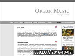 Miniaturka domeny www.organ-music.net