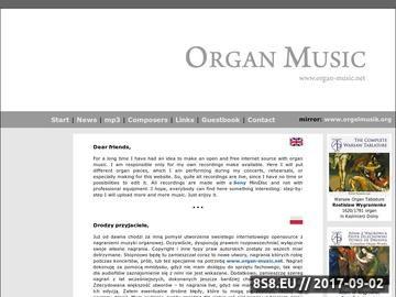 Zrzut strony Organ Music - Orgelmusik - Musica per organo - Muzyka organowa