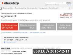 Miniaturka domeny organiczne.pl