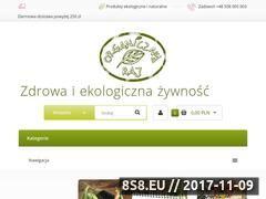 Miniaturka organicznyraj.pl (Delikatesy - zdrowa żywność)