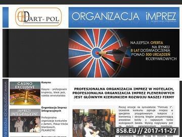 Zrzut strony Organizacja imprez, organizacja pikników