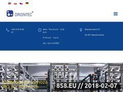 Miniaturka domeny oriontec.pl
